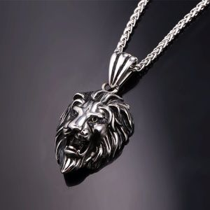 Other - New stainless steel lion necklace